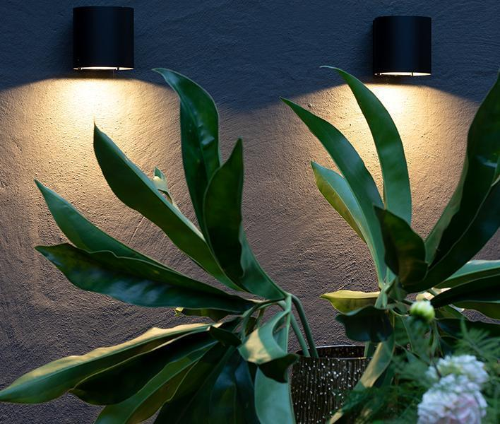 High-quality wall lights with rounded shapes