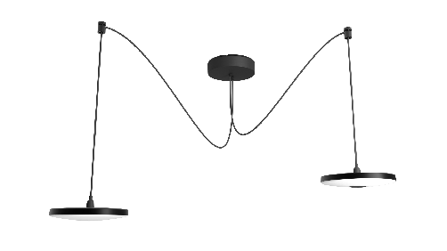 DISC PENDANT 100-230V DUO