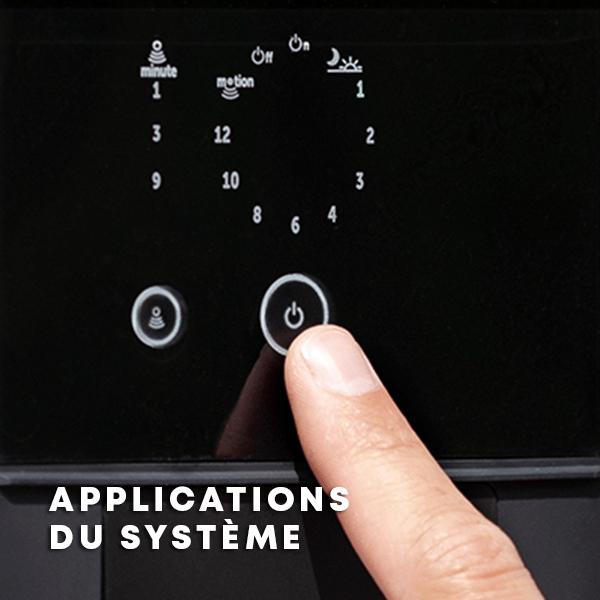 Applications du système