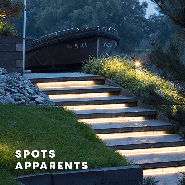 Spots apparents