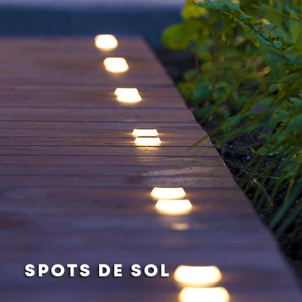 Spots de sol