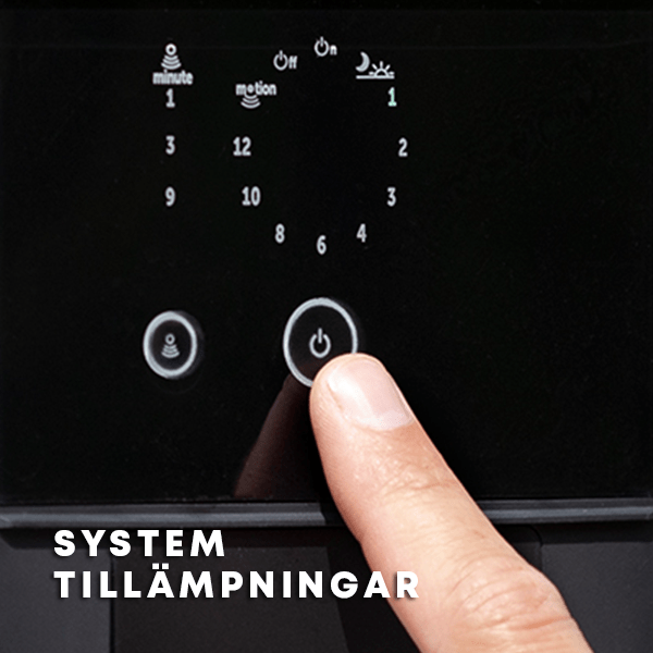 in-lite system Tillämpningar