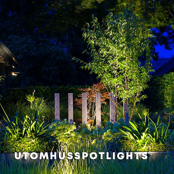 Utomhusspotlights