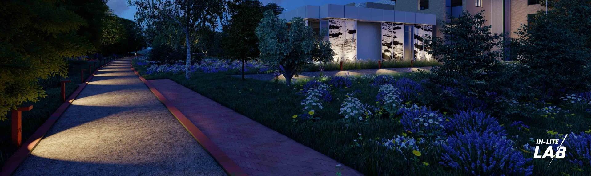Tuinverlichting - oprit verlichting - LAB - in-lite