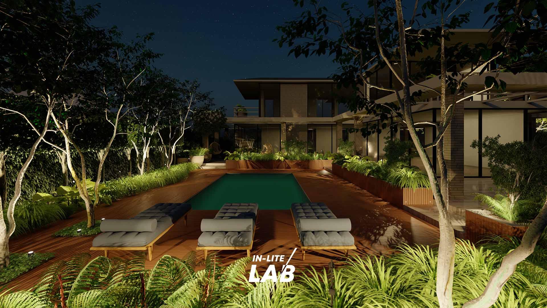 Zwembadverlichting - Tuinverlichting - in-lite LAB - in-lite