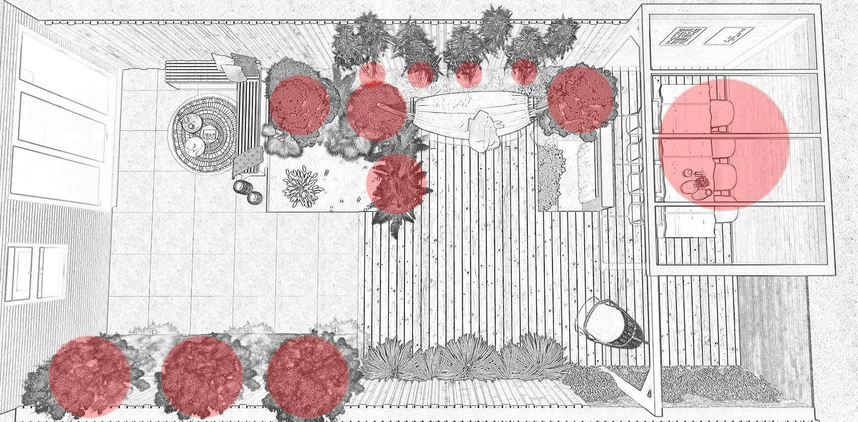 Lichtplan maken - tuinverlichting - in-lite